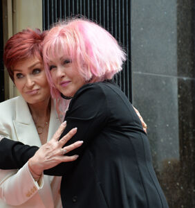 "Cyndi Lauper is on team Sharon Osbourne: ""She misspoke"""