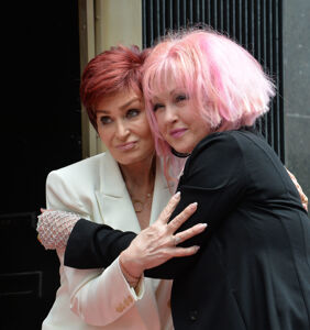 "Cyndi Lauper is on team Sharon Osbourne: ""She misspoke"""