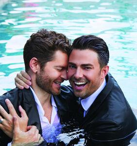 Jonathan Bennett, Jaymes Vaughn share wedding plans & the secret to love