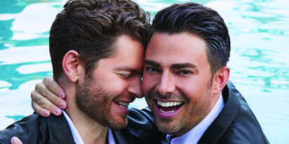 Jonathan Bennett, Jaymes Vaughn share wedding plans & the secret to love