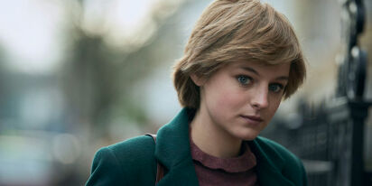 Emma Corrin, Princess Diana of 'The Crown,' appears to have come out