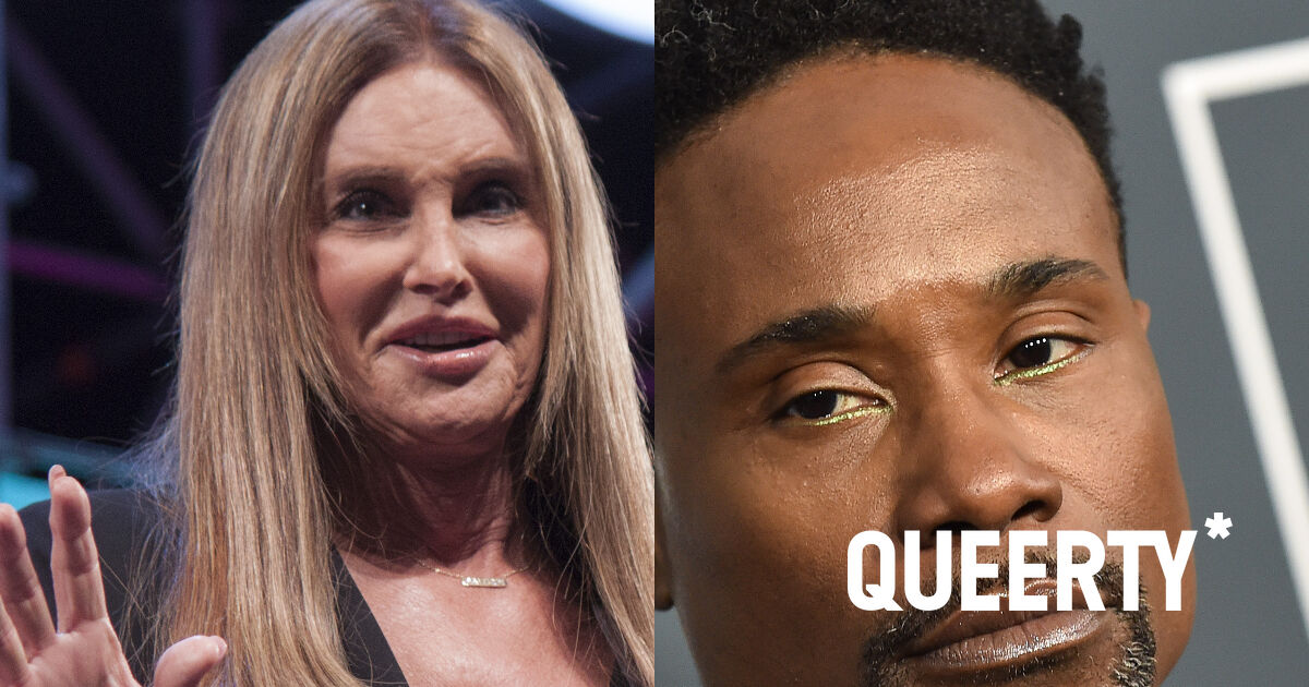 Billy Porter threw some serious shade at Caitlyn Jenner this week