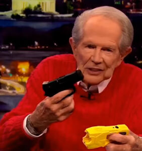 Praise the Lord! Pat Robertson just had a rare moment of sanity