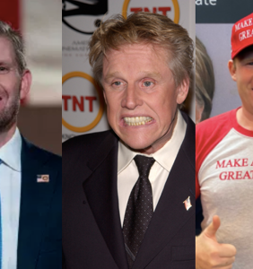 Everyone is convinced Andrew Giuliani and Eric Trump are the bastard sons of Gary Busey