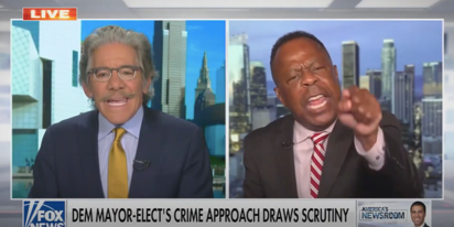 "Geraldo asks civil rights attorney when he last visited the ""ghetto"" and all hell breaks loose"