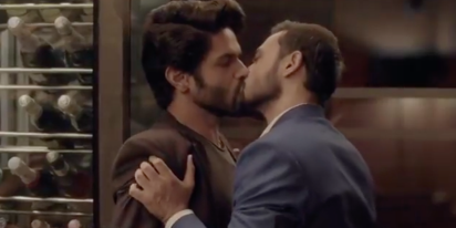 There's lots of backstage drama surrounding this new queer series about a closeted married man