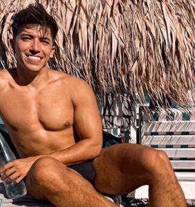 Model Franco Briseno on the motivational power of short shorts at the gym