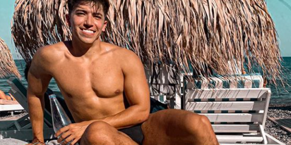 Model Franco Briseno on the motivational power of short shorts at the gym
