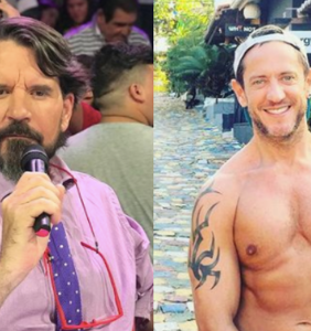 Straight TV host reveals he was once in love with hugely popular gay screenwriter