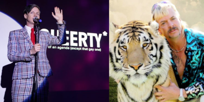 "Dream cast: John Cameron Mitchell to play ""Tiger King"" Joe Exotic opposite Kate McKinnon"