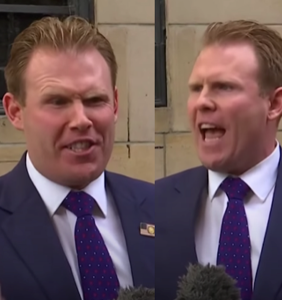 Audiences were not impressed by Andrew Giuliani's insane press conference after his dad's FBI raid