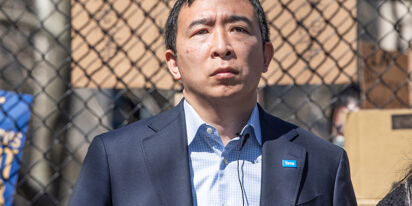 Andrew Yang botched his appeal to LGBTQ voters so hard it's become a meme