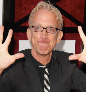 Andy Dick is back in court today for allegedly groping another male driver