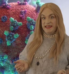 WATCH: Drew Droege's 'Chloe' is back and fully vaccinated