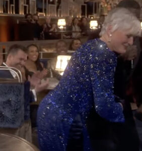 """Glenn Close's """"Da Butt"""" dance was the highlight of the Oscars. Was it all staged?"""