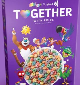 Kellogg's releases a Pride-themed cereal with edible glitter