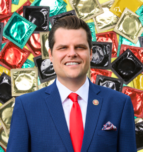 Matt Gaetz urged to lawyer up amid reports of empty Costco-size box of condoms found in office trash