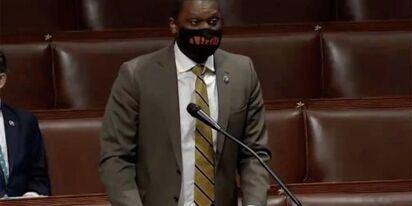"Chaos erupts when Rep. Mondaire Jones calls GOP colleagues ""racist trash"" to their faces"