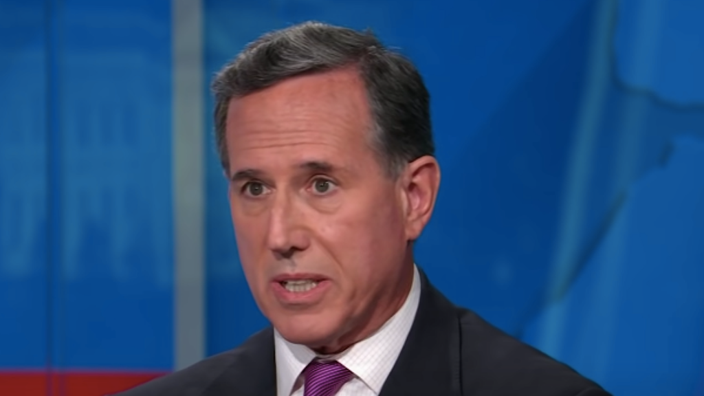 Things are looking pretty bad for Rick Santorum