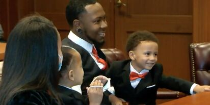 This amazing gay dad adopted five foster kids to keep the siblings together