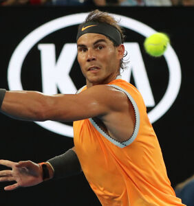 Rafael Nadal steps onto court in pink short shorts and the internet is suddenly sweating