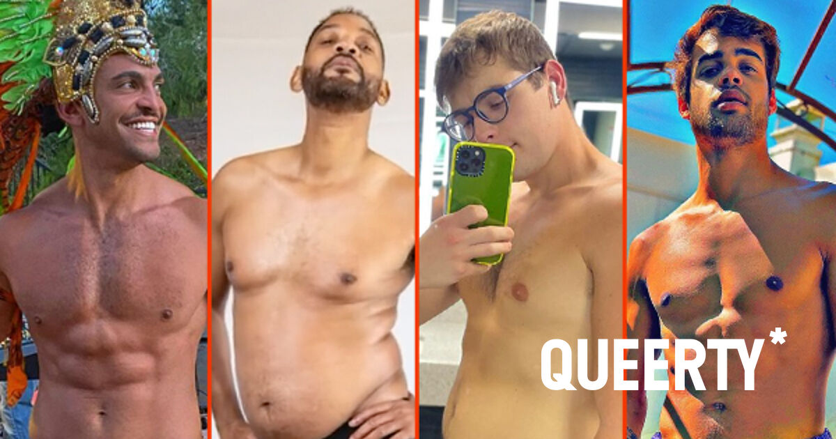 Duncan James' hot husband, Jake Bain's backyard, & Will Smith's big belly