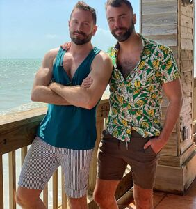 WATCH: Kit & John have a tropical good time in the gay paradise that is Key West
