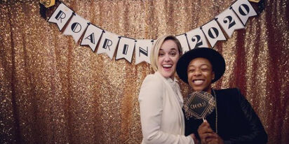 Lesbian power couple Samira Wiley & Lauren Morelli announce they're moms