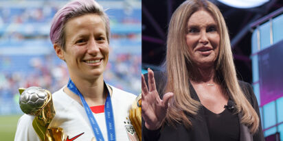 Megan Rapinoe just slammed Caitlyn Jenner's bid for governor