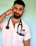 When this hunky doctor isn't posting thirst traps, he's saving lives and fighting homophobia