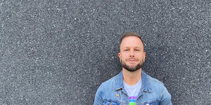 Nate Koch on Kohl's Pride apparel, the Trevor Project and his rescue pups