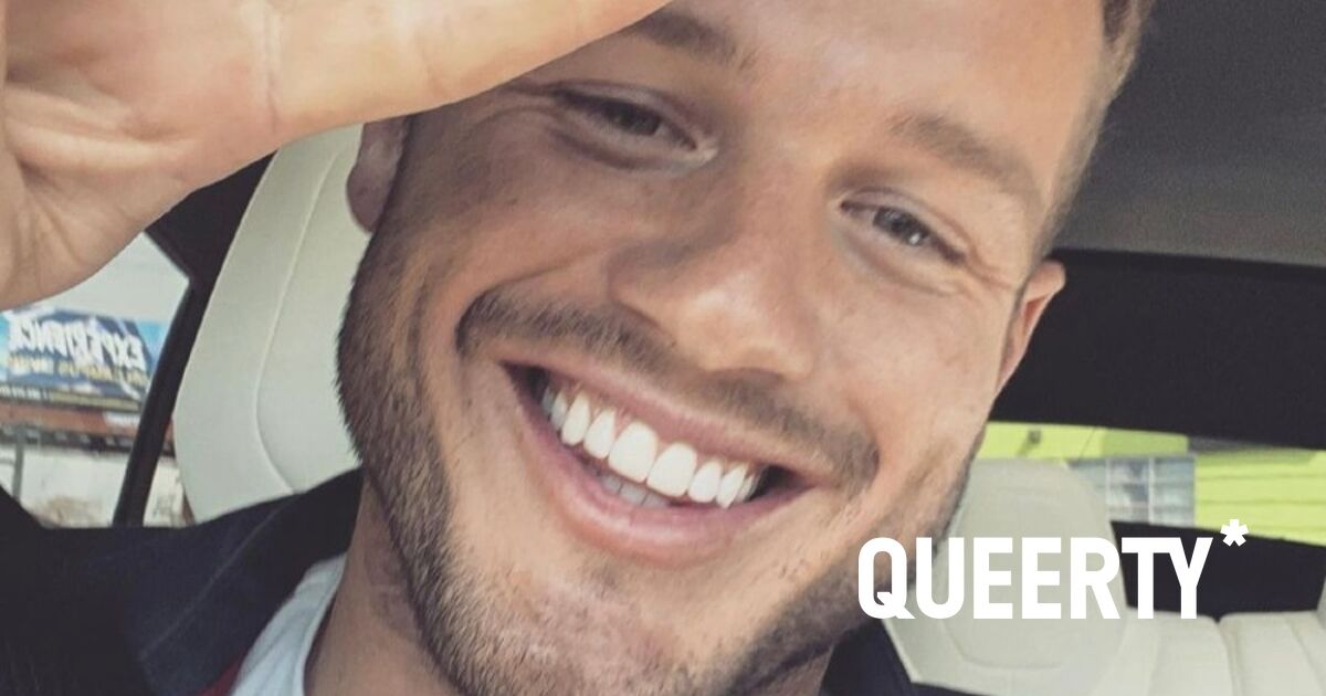 Fan asks Colton Underwood how many guys he's been with and this was his reaction
