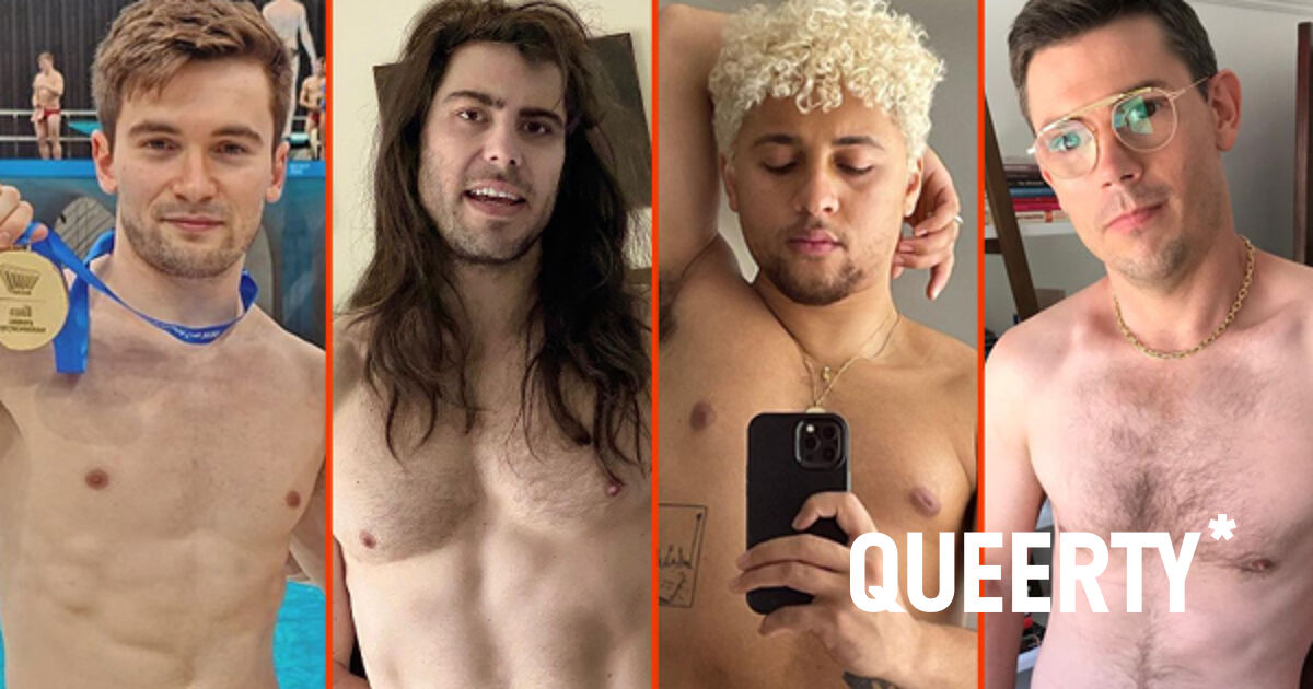"""Ryan O'Connell's furry chest, Max Emerson's birthday suit, & Andrew W.K.'s deep """"V"""""""