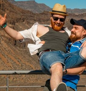 Seven gay, married couples share their honeymoon travel adventures