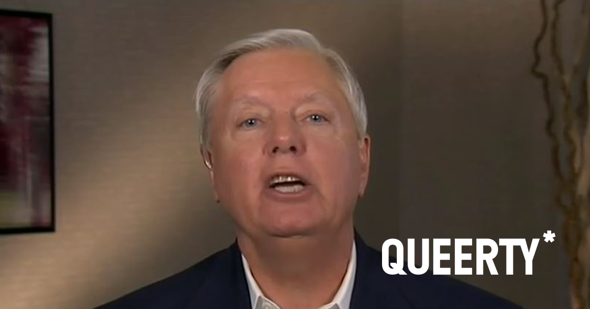 Lindsey Graham's deep-seated obsession with Donald Trump just took a creepy turn