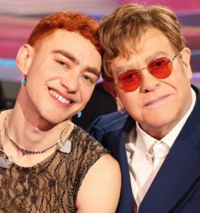 WATCH: Elton John teams up with Olly Alexander to perform 'It's A Sin'
