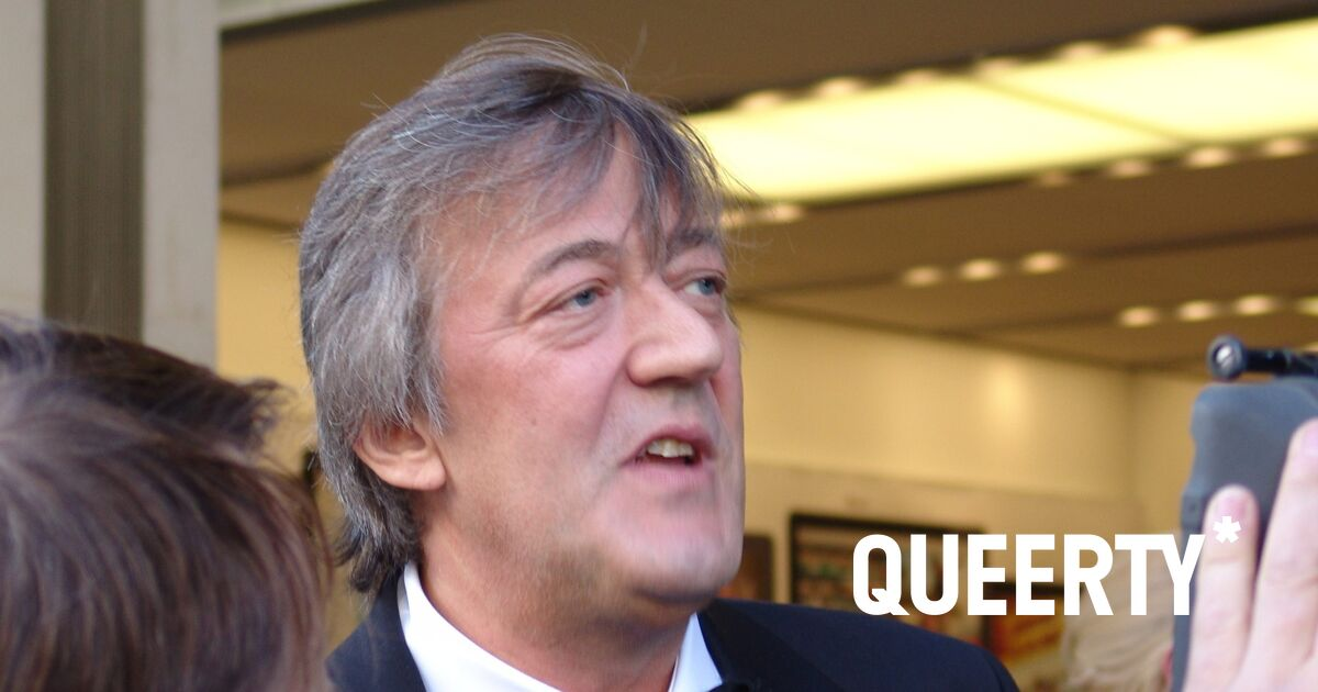 Stephen Fry recalls his very crotch-grabbing audition for 'Gladiator'