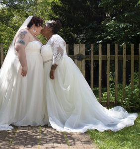 """This couple threw the """"biggest, queerest wedding of the year"""" and got over 10,000 RSVPs"""