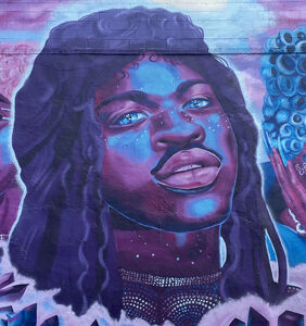 Philadelphia honors pride with three-story mural of Lil Nas X