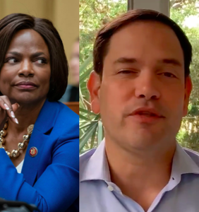 Val Demings announces she's running for Senate and we're pretty sure Marco Rubio just wet the bed