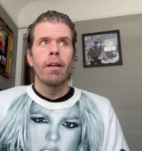 """Perez Hilton to those criticizing him for wishing Britney Spears dead: """"F*ck you!"""""""