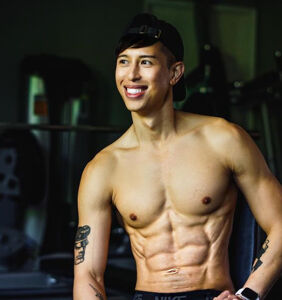 Barry's Bootcamp trooper Steven Phan on the power of short shorts at the gym