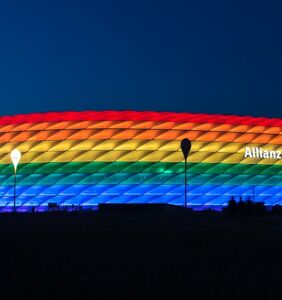 Rainbow stadium controversy ends with defeated Hungarian soccer team heading home