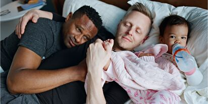 Gay dads celebrated in a beautiful new photography book
