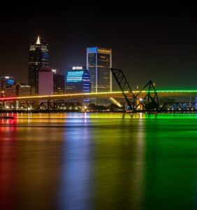 Florida u-turns and now allows local bridge to be lit in rainbows for Pride month