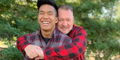 Gay dad has the best reaction to son qualifying for Tokyo Olympics