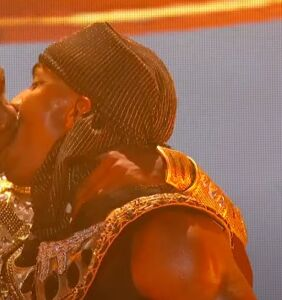 WATCH: Lil Nas X kisses one of his male dancers on stage during BET Awards