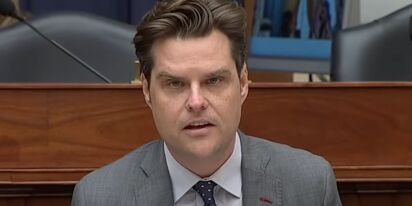 WATCH: Matt Gaetz thought he could get one over on the military. He was wrong.