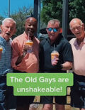 """""""Old Gays"""" celebrate pride on TikTok and we're officially in love"""