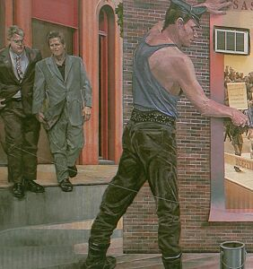 This incredible mural graces Philly's William Way LGBT Center